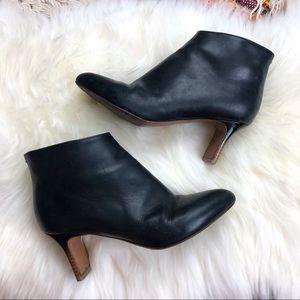 Maison Martin Margiela | Black Leather Ankle Boots